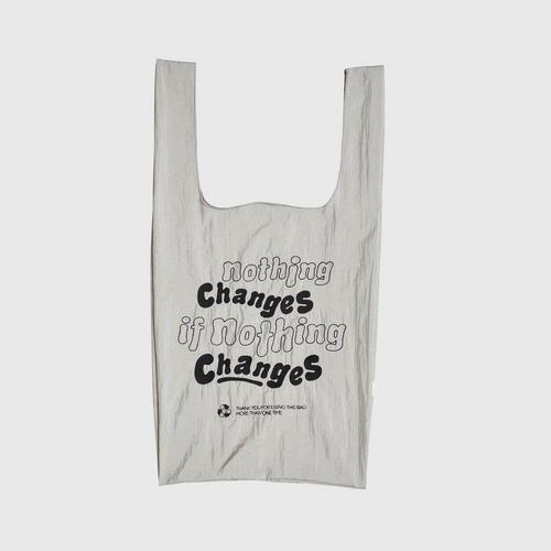 MAHANAKHON Shopping Bag - Nothing Change / Gray