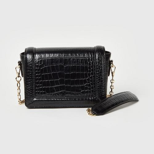Longlai Small Crossbody Black Colour