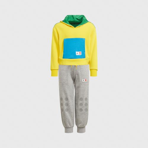Adidas LB LEGO SET - YELLOW SIZE 92 CM UK