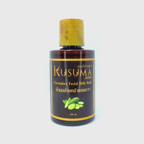 Kusuma Herbs -Cucumber Facial Milk Bath - 130 ml.