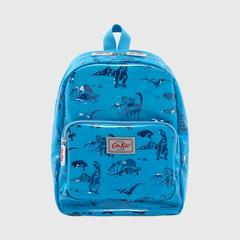 Cath Kidston Kids PVC Medium Backpack Mono Dino Blue