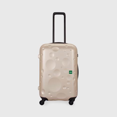 LOJEL LUNA Medium 4 Wheels TSA Lock-Champagne