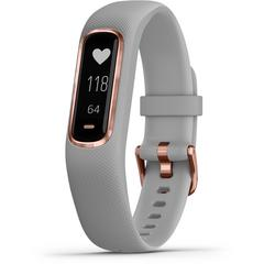 GARMIN Vívosmart® 4 Rose Gold with Gray Band (Regular)