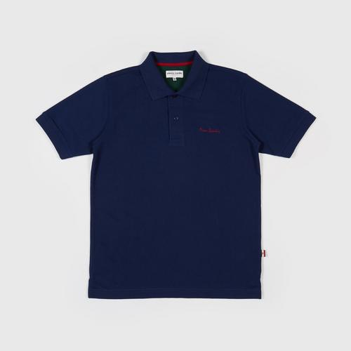 PIERRE CARDIN Polo Shirt - M NAVY