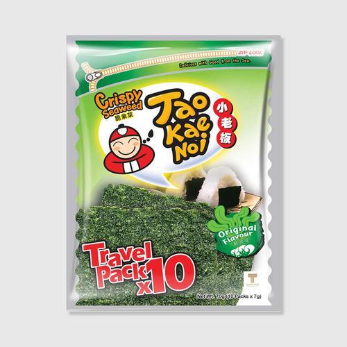 Taokaenoi Crispy Seaweed Original Flavour Taokaenoi Brand)