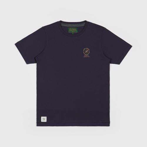 SANTA BARBARA T Shirt - NAVY - Size  S