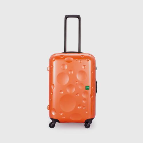 LOJEL LUNA  Medium 4 Wheels TSA Lock-Orange