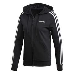 ADIDAS ESSENTIALS 3STRIPES FULL ZIP HOODIE - SIZE XS