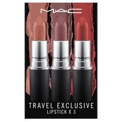 MAC 旅行独享:唇膏三支装(深色) Lipstick x3 / 3.0 g