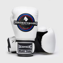 MUAY THAI STREET Boxing size 10 OZ. - White