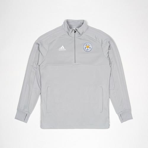 Leicester City Football Club Stone Grey Training Top 2018 - 2019 Size S
