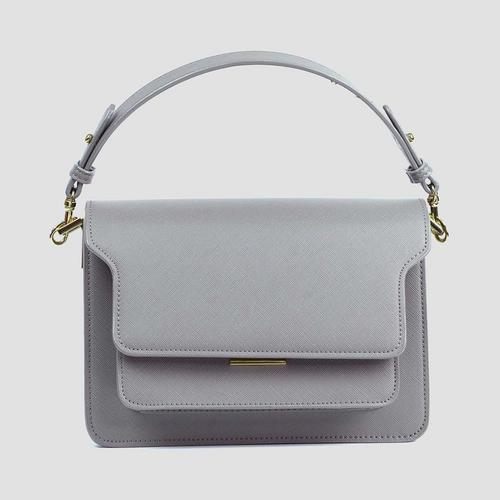 LABELLA EVELYN HANDBAG - LIGHT GREY