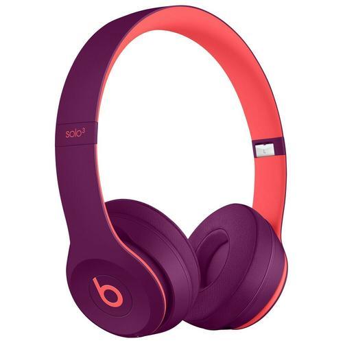 BEATS Solo3 Wireless  Beats Headphones Pop Collection - Pop Indigo