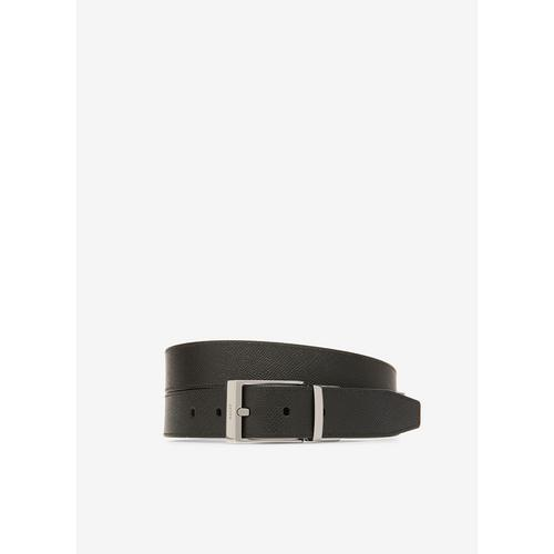 BALLY Shiff - Leather Adjustable & Reversible 35mm Belt In Black & Brown