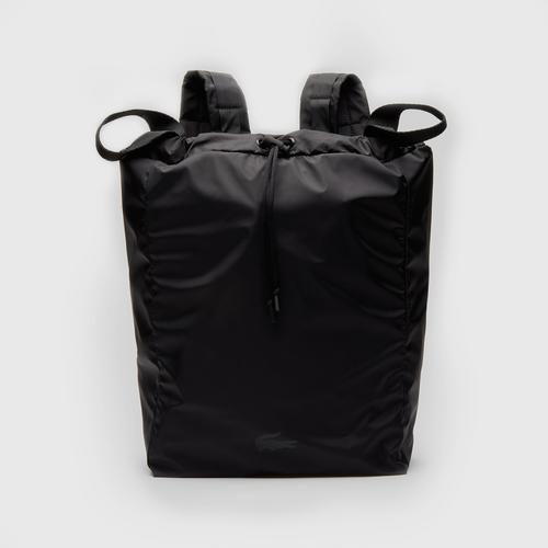 LACOSTE Men's Lacoste Motion Collapsible Backpack Tote Bag - Black