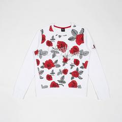 Disney Women Sweatshirt Minnie-Rose White-M