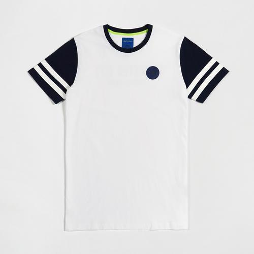Leicester City Football Club Boll & Rava Stripes T-Shirt size S
