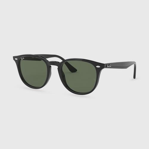 RAYBAN Black Frame Unisex Sunglass