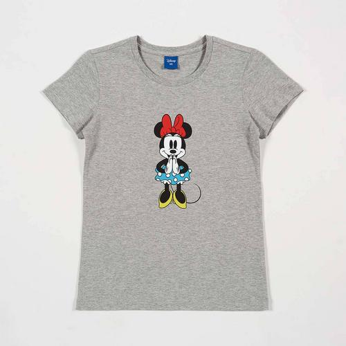 Disney Teen Women T-Shirt Minnie-Sawasdee White-XS