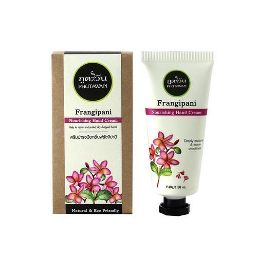 Phutawan Hand Cream  Frangipani 40 g.