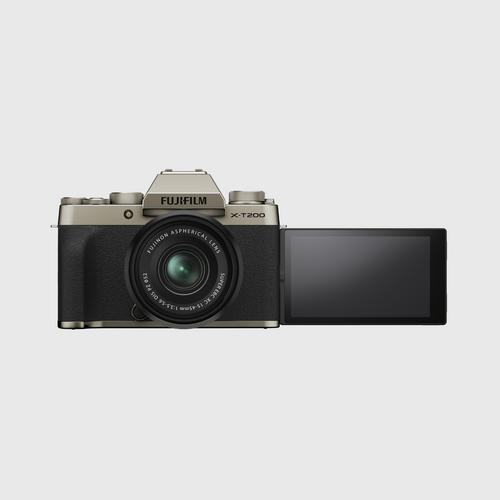 FujifilmX-T200 Kit 15-45 mm. Gold