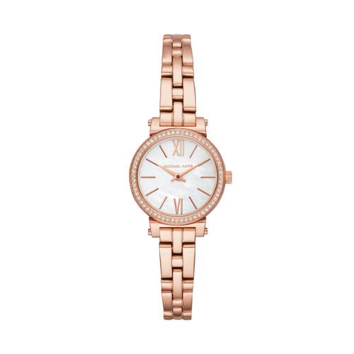 MICHAEL KORS Analog 26 MM Pink Mother of Pearl Dial