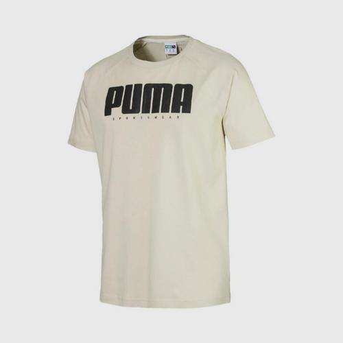 PUMA Men's T-Shirt Athletics Overcast Size : S