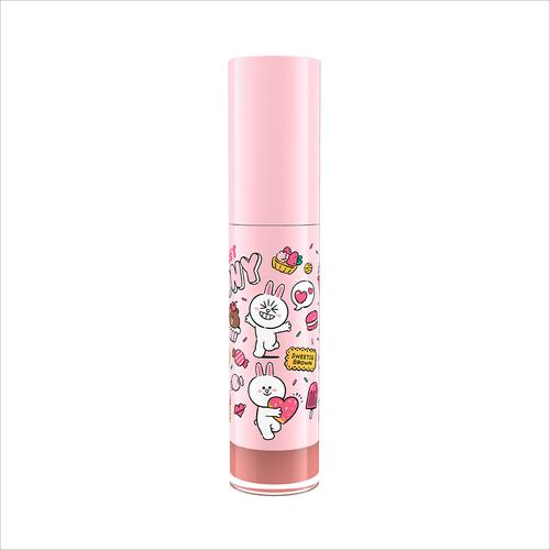 MILLE Line Friends l Mille Iconic Matte Liquid Lip #02 Cony