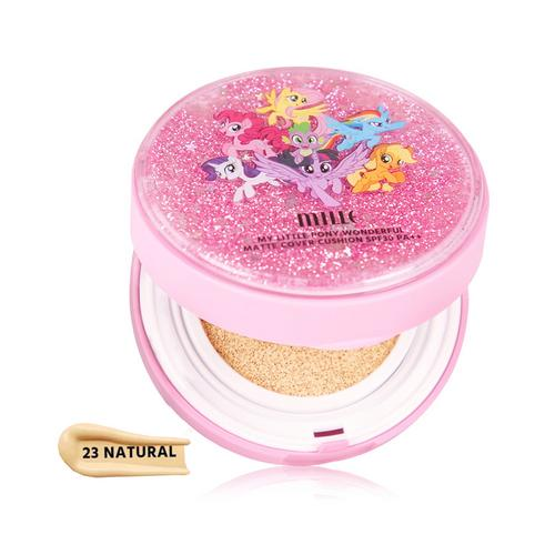 MILLE My Little Pony Wonderful Matte Cover Cushion SPF30 PA++ 13g #23 Natural