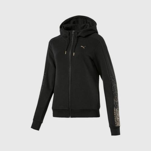 PUMA Women's Jacket Holiday Pack FZHo Cotton Black Size XS