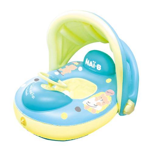 Nai-B Cushion Parasol Baby Walker Swim tube Mint