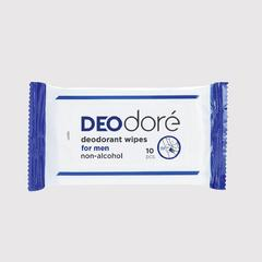 DEOdore' deodorant wipes for men 10pcs