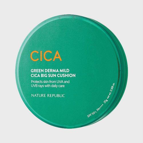 GREEN DERMA MILD CICA BIG CUSHION SPF50+PA++++ (25g)