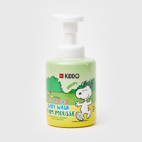 BSC Kiddo Snoopy Fresh & Bright Body Wash Foam Mousse 350ml