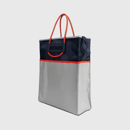 MAHANAKHON Color Block Tote Bag - Navy