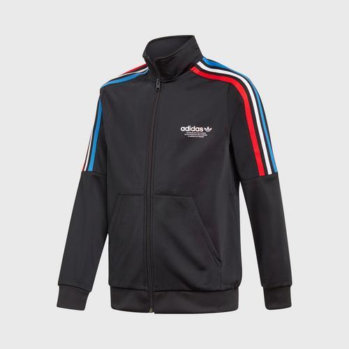 Adidas TRACKTOP - BLACK SIZE 128 CM UK