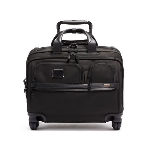 TUMI DELUXE 4 WHEELED LAPTOP CASE BRIEF