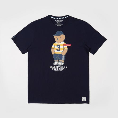 BEVERLY HILLS POLO CLUB  T-Shirt - Black - M