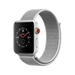 APPLE WATCH Series3 GPS+Cellular 42 mm Silver Aluminium Case with Seashell Sport Loop