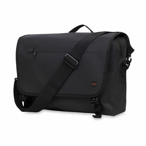 "KNOMO RUPERT 14"" Laptop Messenger Bag  Black"