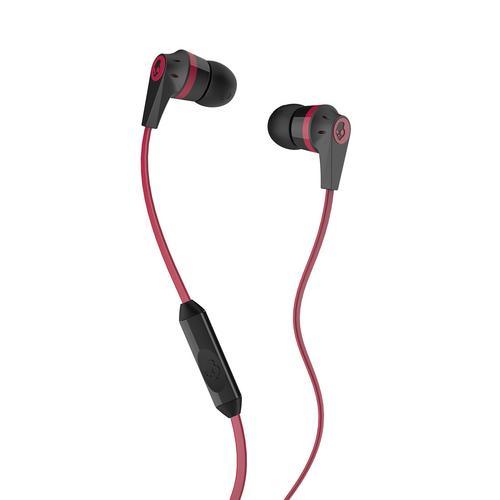 Skullcandy INK'D 2 Earbud Headphones (Black/Red)