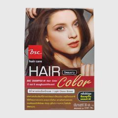 Bsc Hair Care Shampoo-In Hair Colour - Lt. Choco Brown 30ml