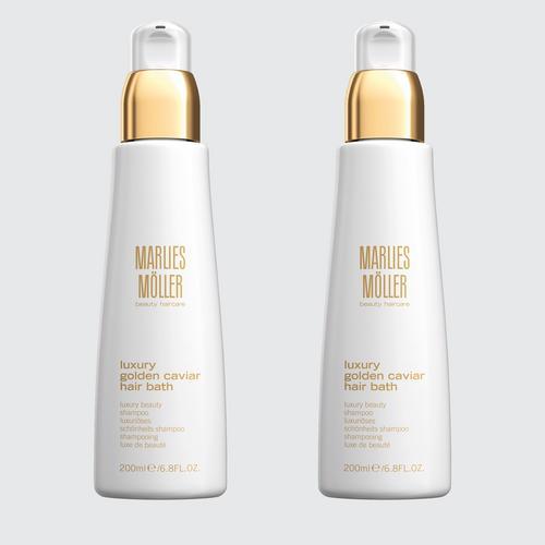MARLIES MOLLER  Luxury Golden Caviar Hair 200Ml  (bundle set )