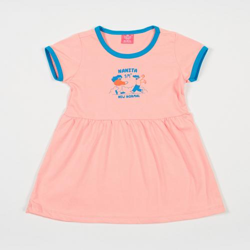 NANITA Kids Clothes : Dress DG001 - Pink - S