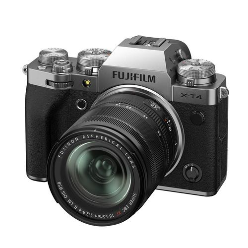Fujifilm X-T4 Kit 18-55 mm. Silver