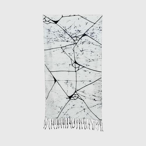 KAYA BATIK - Batik silk scarf Size 50x180 cm.