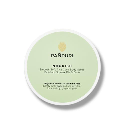 PANPURI NOURISH SMOOTH SOFT RICE COCO BODY SCRUB 200ML 6.7 fl. oz.