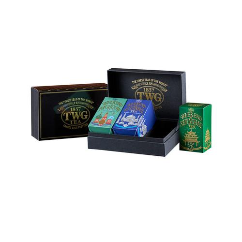 TWG WEEKEND TRIO TEA SET (3 X 50 G)