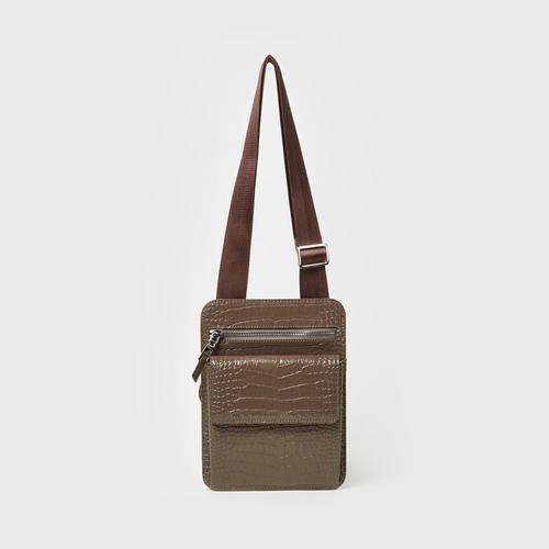 Longlai Mini Massenger Bag Taupe Colour