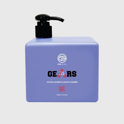 "ONE & ALL ""Gears"" Athletic Wear Wash 450ml"